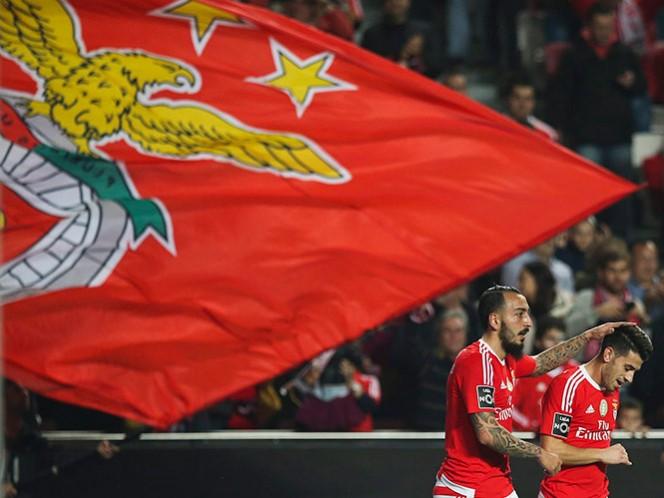 El Benfica se impuso sin problemas en su estadio al modesto Arouca por 3-1 (EFE)