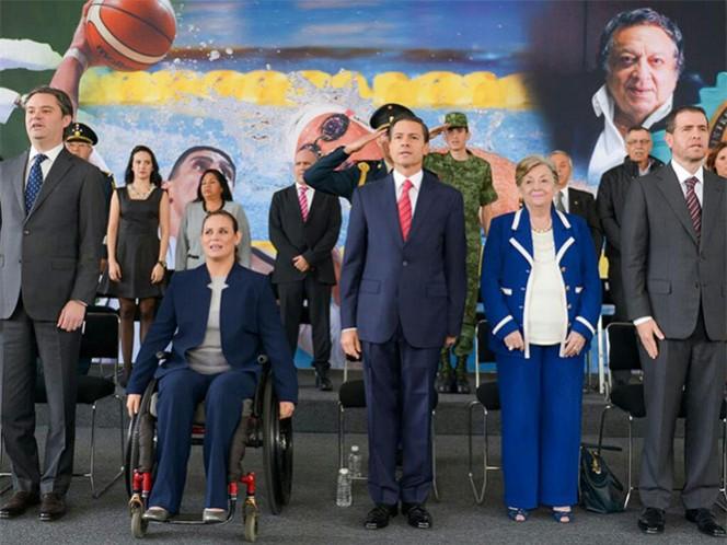 VIDEO: Peña Nieto reitera apoyo a atletas mexicanos