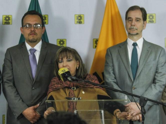 Lorena Cuéllar, candidata por el PRD a la gubernatura de Tlaxcala, tendrá como jefe de campaña al líder nacional del sol azteca, Agustín Basave (Foto: Cuartoscuro)