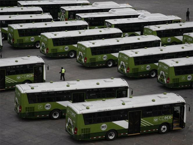 Mancera entrega 80 autobuses RTP; se mantendrá tarifa