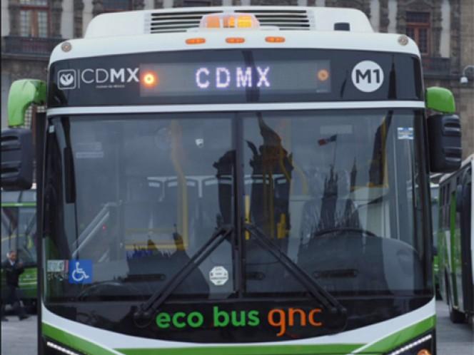 La unidades son ecológicas, ya que trabajan con diesel y gas natural.