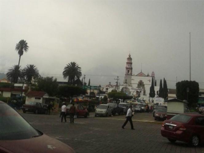 En el municipio de Amecameca se registraron temperaturas de hasta 3 grados.