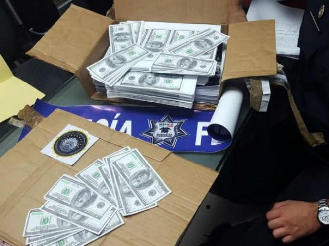 La Policía Federal aseguró en distintas acciones 284 mil dólares americanos falsos, equivalentes a más de cinco millones de pesos