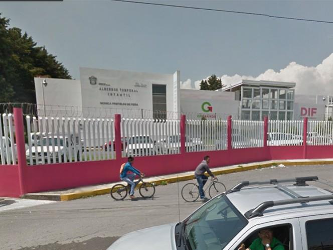 Personal del albergue temporal del DIF Estado de México (DIFEM) no descarta que la menor haya escapado.