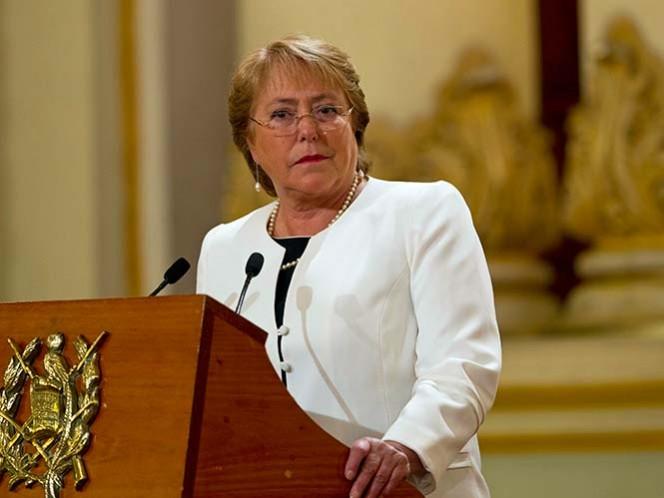 'Han sido tiempos difíciles para mí y mi familia': Bachelet