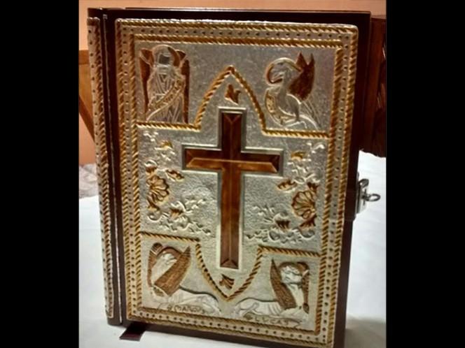 Altar y evangeliario que utilizará el Papa en Ecatepec están terminados