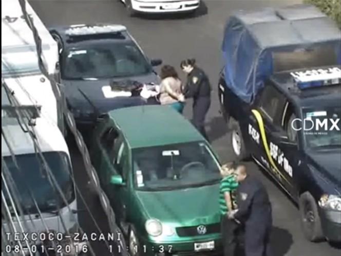 VIDEO: Logran detención de asaltantes a cuentahabiente