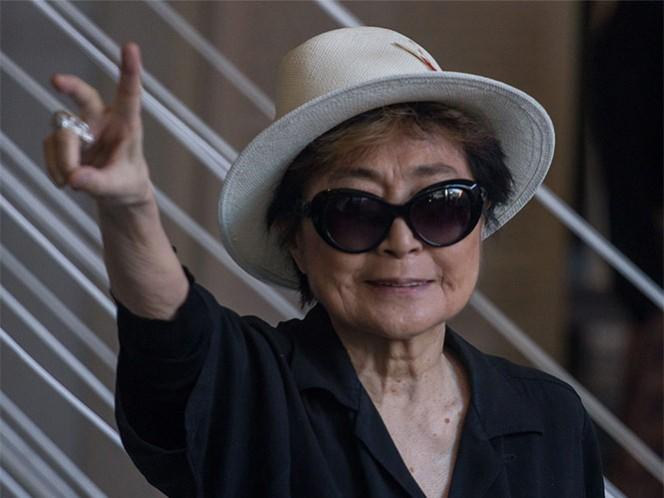 Yoko Ono trae a México su mensaje de paz con 'Tierra de Esperanza'
