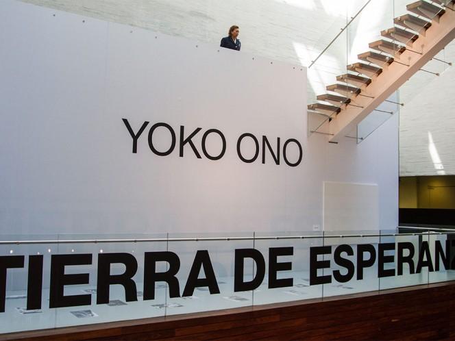 """""""Tierra de Esperanza"""" de Yoko Ono podrá visitarse a partir de este 3 de febrero en el Museo memoria y Tolerancia."""