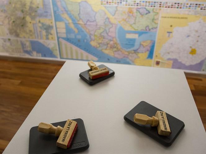 En diversos puntos de la Ciudad de México hay piezas relacionadas con el trabajo de Yoko Ono.