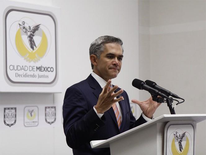 Miguel Ángel Mancera, jefe de Gobierno del DF, destacó que la decisión sobre el mando único policial no debe ser tajante.