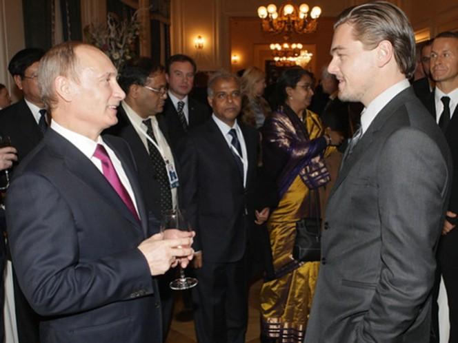 Recientemente DiCaprio aseguró que interpretar a Putin 'sería muy, pero que muy interesante' y en la misma entrevista apuntó que también le gustaría ponerse en la piel de Lenin y de Rasputin. (AP)
