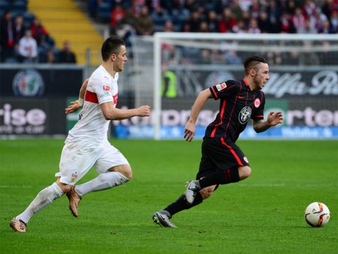 Eintracht Frankfurt pierde 2-4 ante el Stuttgart (Foto tomada de spieledb.eintracht.de)