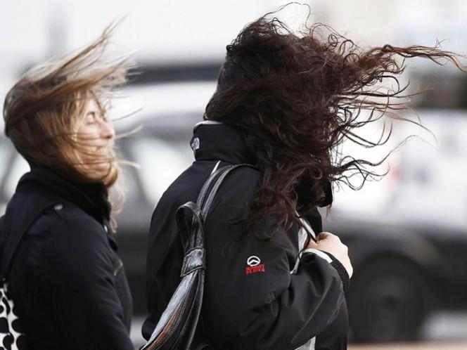 Además del frío intenso, en algunas regiones del país habrá ráfagas de viento muy fuertes