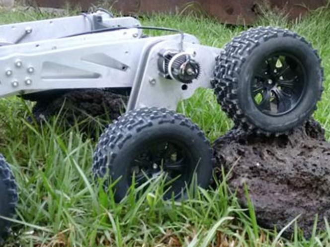 Estudiante mexicano crea robot inspirado en el Curiosity