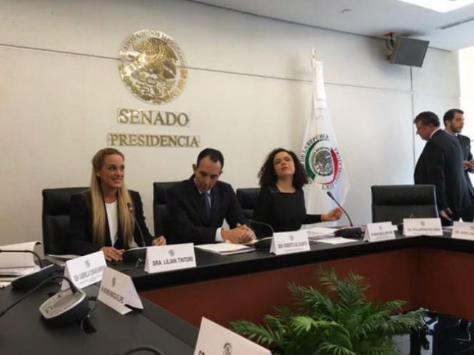 La activista venezolana Lilian Tintori consideró exitosa su visita a México