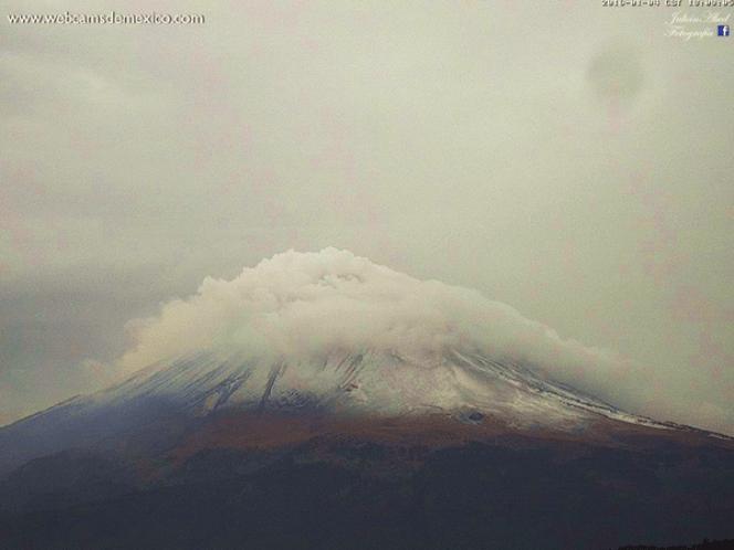 Se prevé caída de nieve en zonas montañosas del centro del país superiores a 3 mil 500 metros de altitud
