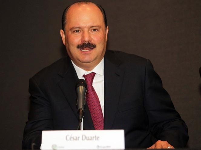César Duarte Jáquez, gobernador de Chihuahua