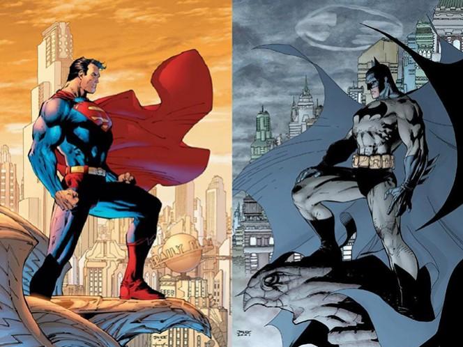 El actor Ben Affleck, que interpreta a Batman en la cinta a estrenar en marzo, y Jesse Eisenberg (el villano Lex Luthor), aparecen en los anuncios, que recrean el típico comercial de promoción de una ciudad. (DC Comics)