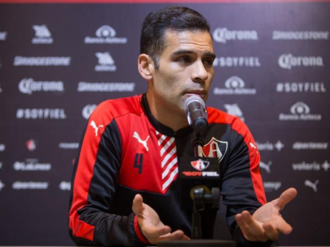 Márquez se autodescartó para ser refuerzo del Tricolor en los Juegos Olímpicos Río de Janeiro. (Mexsport)