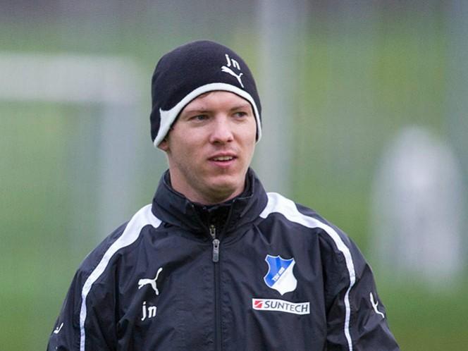 Nagelsmann, técnico más joven en la historia de la Bundesliga (AP)