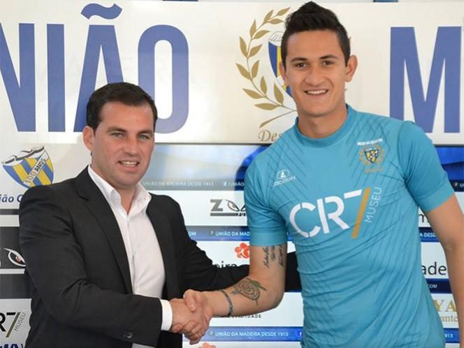 """""""Esto es un sueño y quiero aprovechar todas las oportunidades"""", dijo Raúl Gudiño (Foto tomada del Facebook de Clube de Futebol União da Madeira)"""