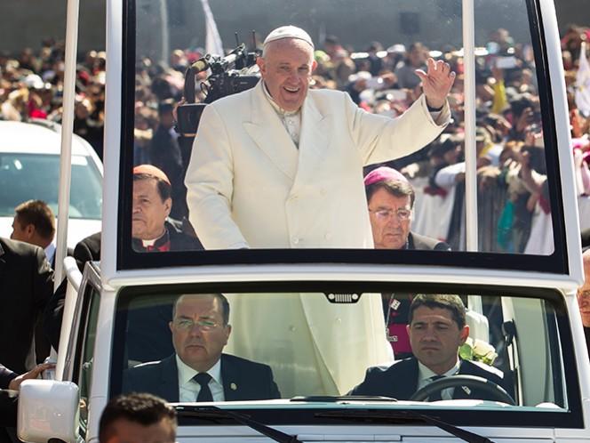 El Pontífice tendrá este domingo varios recorridos