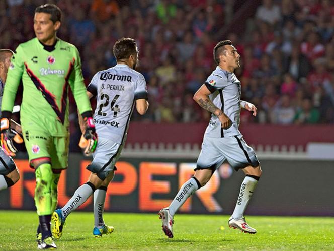 La recepción dirigida de Sambueza valió gran parte del golazo ante Veracruz (Mexsport)