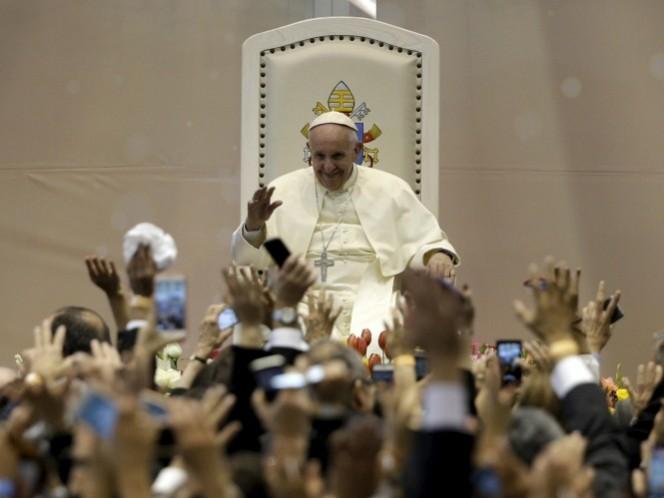 El Papa Francisco I aprovechó su paso por México para ofrecer palabras de aliento e inspiración. (Reuters)