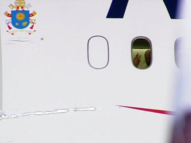 El Papa dijo adiós a México