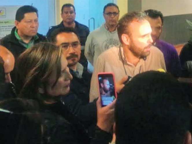 La PGJ de la Ciudad de México, informó que ejerció acción penal en contra de Javier Mejía Callejas, como probable responsable de los delitos de ultrajes a la autoridad y robo agravado en contra de Arne Aus den Ruthen Haag, City Manager de la Delegación Miguel Hidalgo.