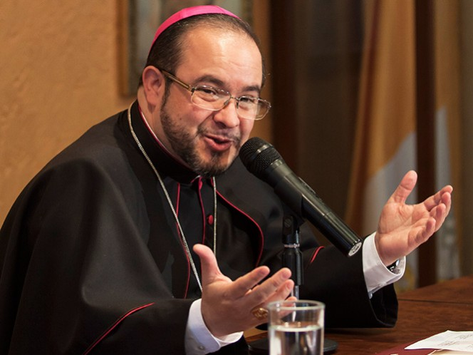 Eugenio Lira Rugarcía, coordinador de la visita del Papa a México