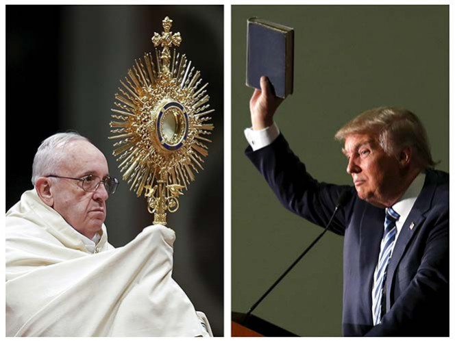 'No fue ataque personal', dice El Vaticano sobre 'bronca' entre Papa y Trump