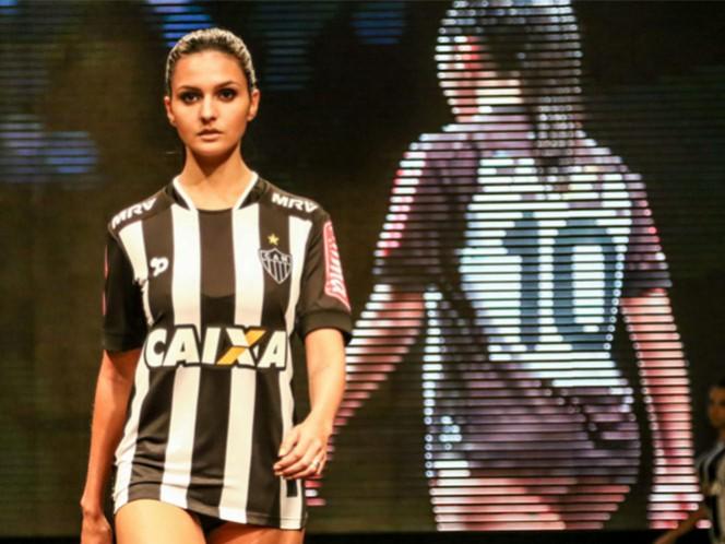 El cuadro brasileño presenta sus nuevos uniformes (Foto: Cortesía Atlético Mineiro)