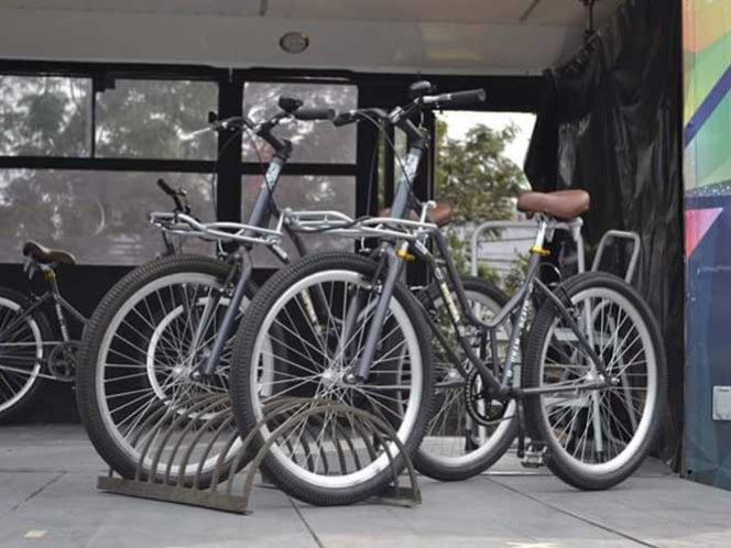 Las nuevas bicicletas del Sistema BiciPuma de la Universidad Nacional Autónoma de México