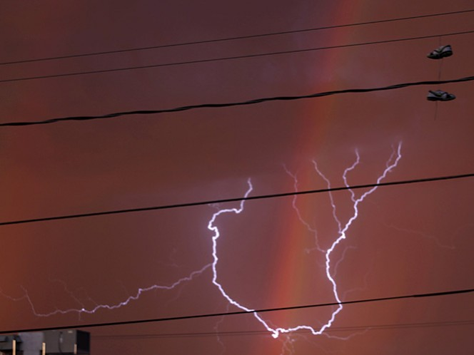 En Nuevo León y Tamaulipas puede haber tormentas eléctricas este lunes