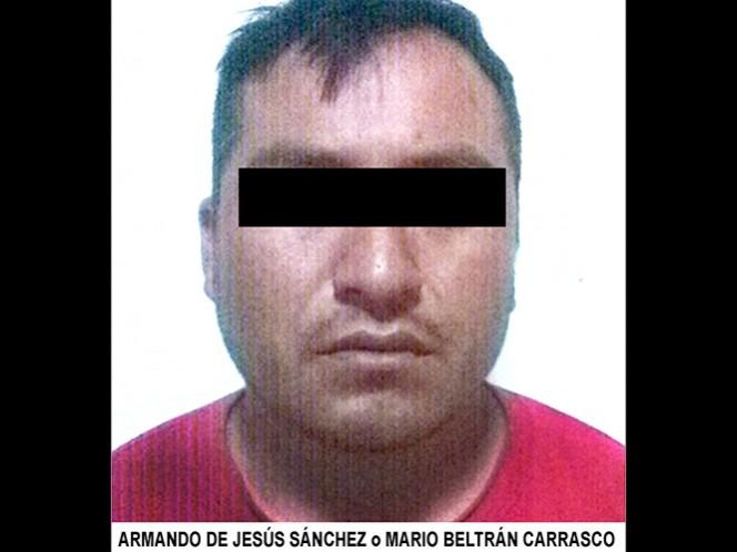 El presunto homicida, quien también se hacía llamar Mario Beltrán Carrasco, fue capturado en el estado de Guanajuato.