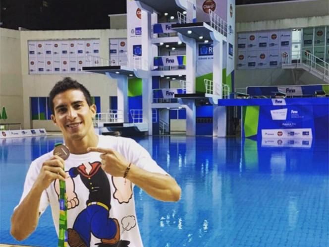 Pacheco será una de las 'cartas fuertes' de México en los próximos Juegos Olímpicos. (@Rommel_Pacheco)