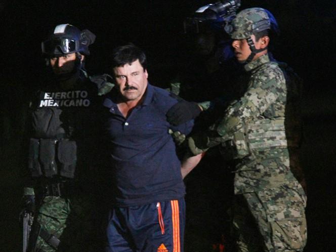 """""""El Chapo"""" fue recapturado en la ciudad de Los Mochis, el 8 de enero pasado"""