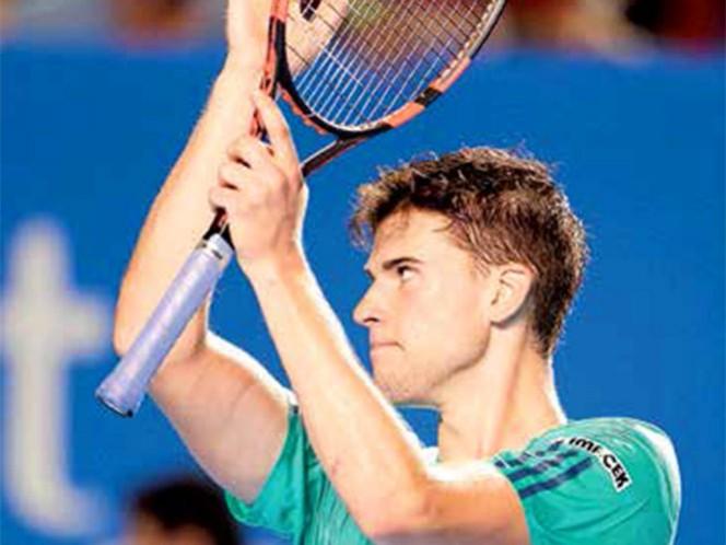 Dominic Thiem dio cuenta de Grigor Dimitrov en los cuartos de final del torneo mexicano; ha sido semifinalista en sus tres últimos certámenes (Mexsport)