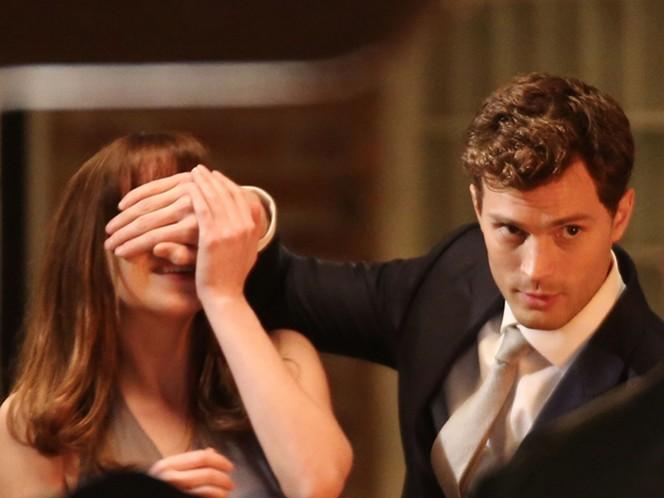 La cinta 'Fifthy Shades Of Grey' se hace acreedora a Peor Película, Peor Actriz, Peor Actor, Peor Pareja y peor Guión. (Universal Pictures)