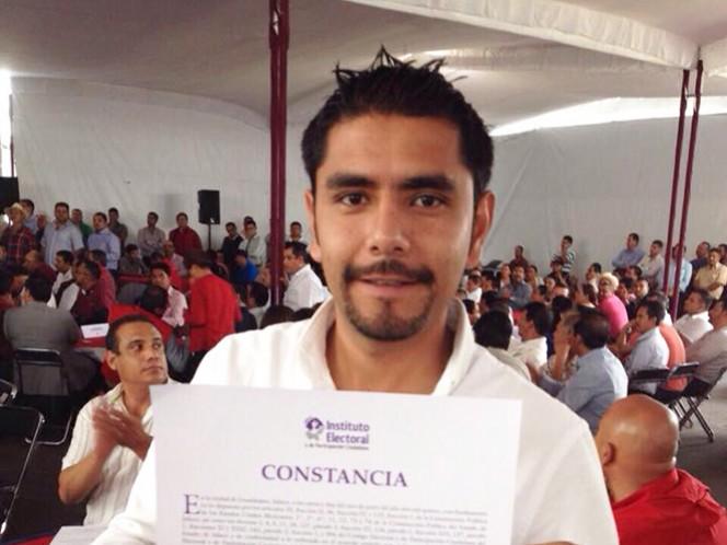 Víctor Eduardo Castañeda Luquín, alcalde del municipio de Ahualulco de Mercado