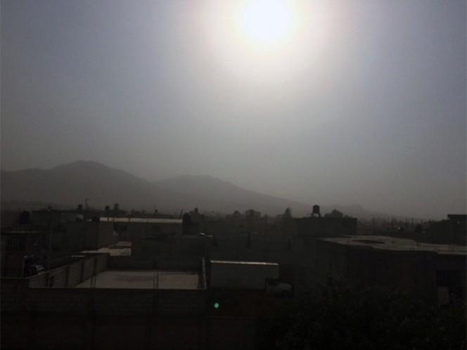 Los últimos días, el municipio de Ecatepec ha presentado altos niveles de contaminación ambiental.
