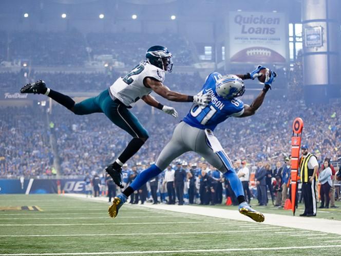 El 'wide receiver' Calvin Johnson se retira después de nueve temporadas con los Leones de Detroit (AP)