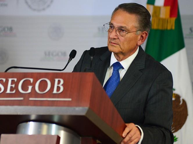 Luis Felipe Puente Espinosa, coordinador nacional de Protección Civil de la Secretaría de Gobernación