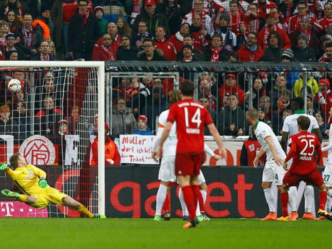 Con dobletes de Alcántara, Müller y uno de Lewandowski, los dirigidos de Pep Guardiola se llevan el triunfo por 5-0 (Fotos: AP y Reuters)
