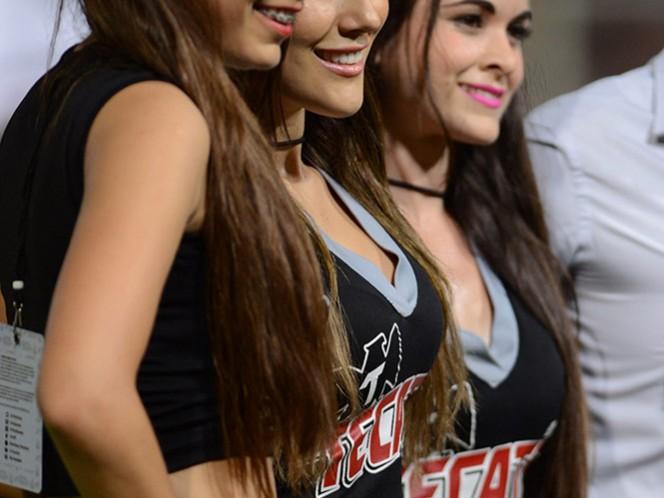 Las chicas de los cuartos de final de la Copa MX (Mexsport)