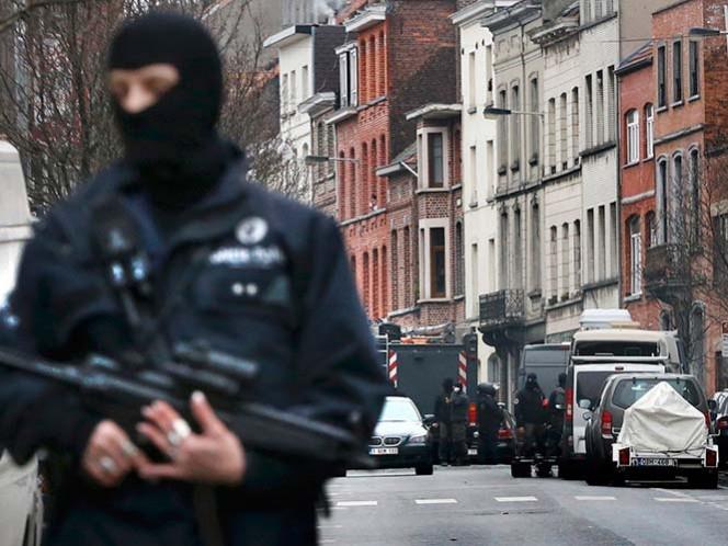 Realiza Bélgica operación para hallar a perpetrador de atentados en París