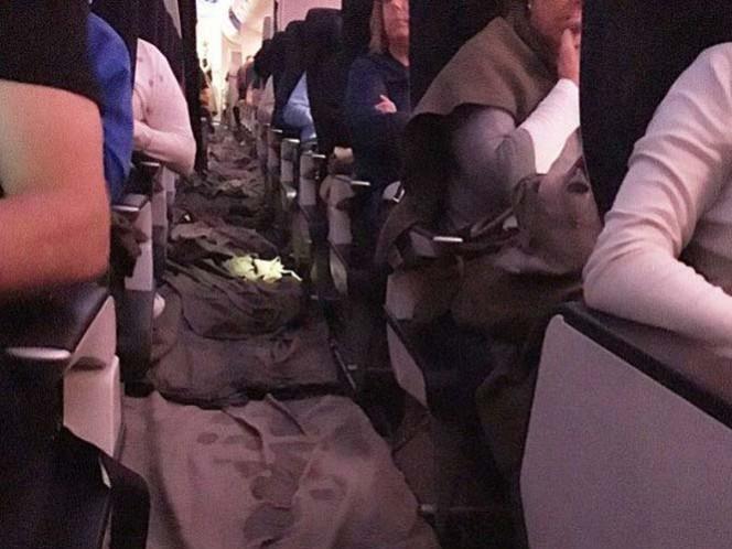 Se inunda avión de British Airways a 100 mil metros de altura