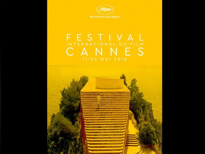 'Todo está ahí. Las escaleras, el mar, el horizonte: la ascensión de un hombre hacia su sueño, bajo el calor de una luz mediterránea que se vuelve dorada', indicaron hoy los organizadores en un comunicado. (Tomada de la página oficial del Festival de Cannes)